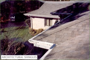 LeavesOut Gutter Cover Installation on Architectural Shingles Roof
